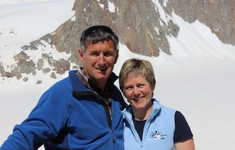 Hans und Vreni Winterberger-Lohner, Wirte auf der Finsteraarhornhütte